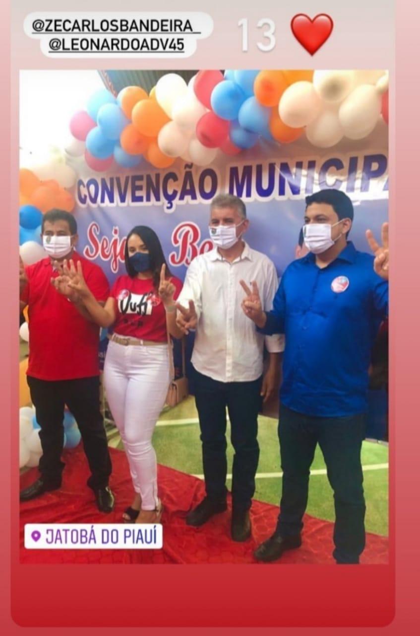 Em convenção histórica Zé Carlos Bandeira e Dr.Leonardo Tavares são homologados em Jatobá do Piauí - Imagem 16