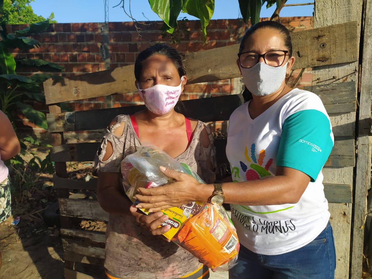 Unimed em Parnaíba faz a doação de mais de meia tonelada de alimentos