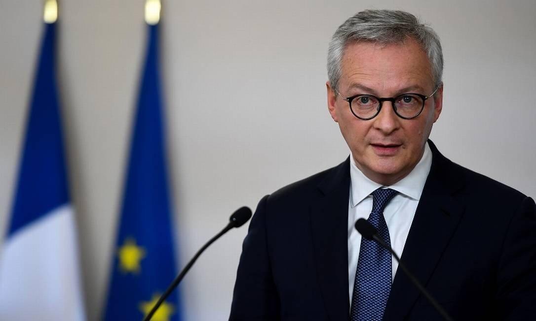 Le Maire, ministro Francês das finanças / Crédito: Christophe Archambault