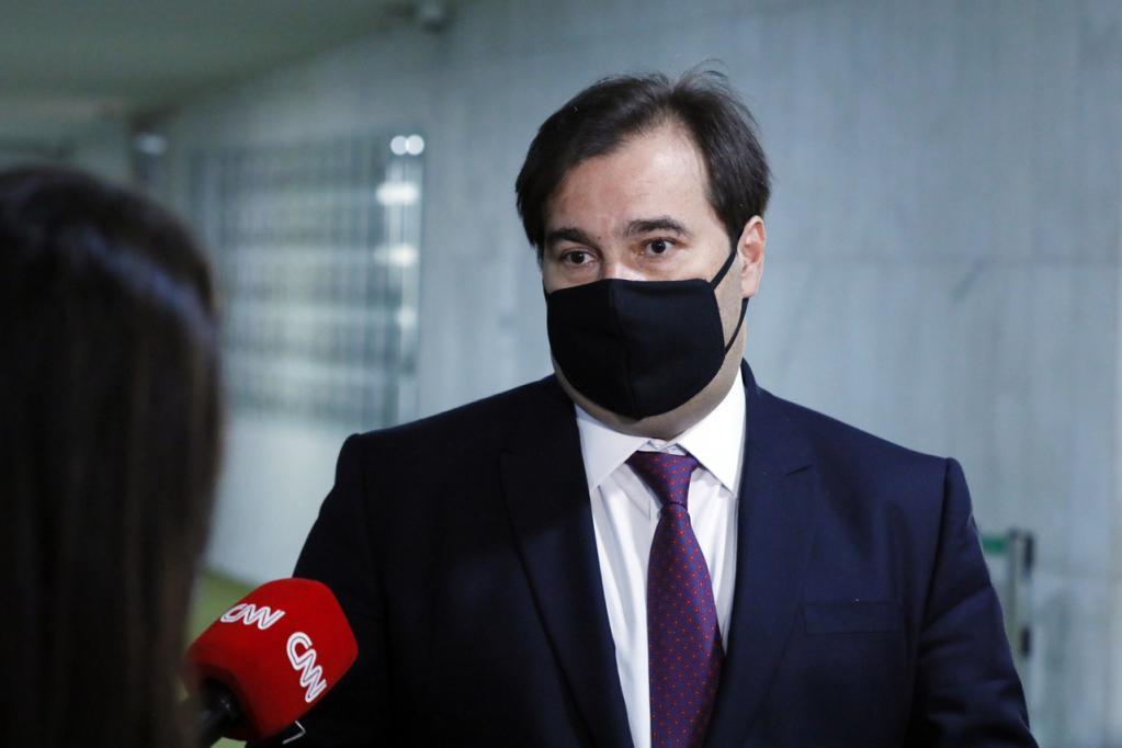 Rodrigo Maia está com coronavírus