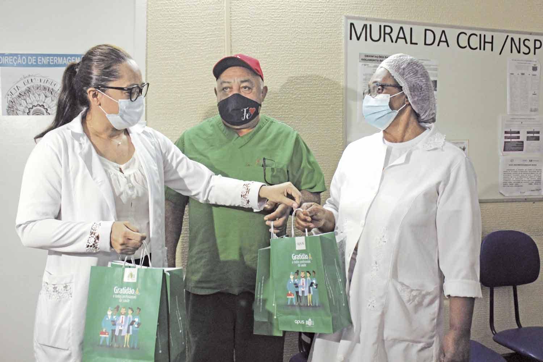 10 mil kits já foram doados - Foto: Raíssa Morais