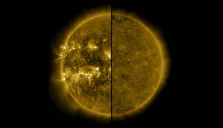 O Sol está no seu 25º ciclo (Imagem: Nasa)