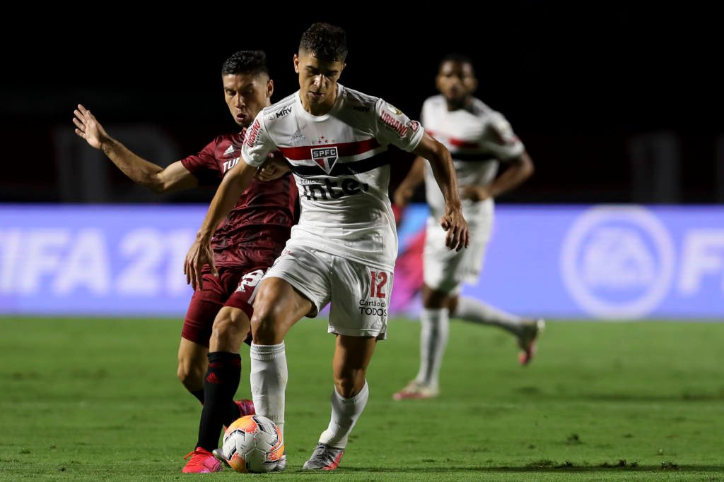 São Paulo empatou com River Plate Divulgação- Conmebol