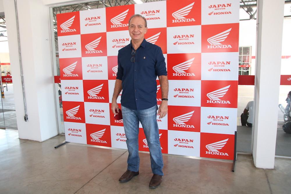 Roberto Pinheiro, gerente geral da Japan Motos / Crédito: David Carvalho