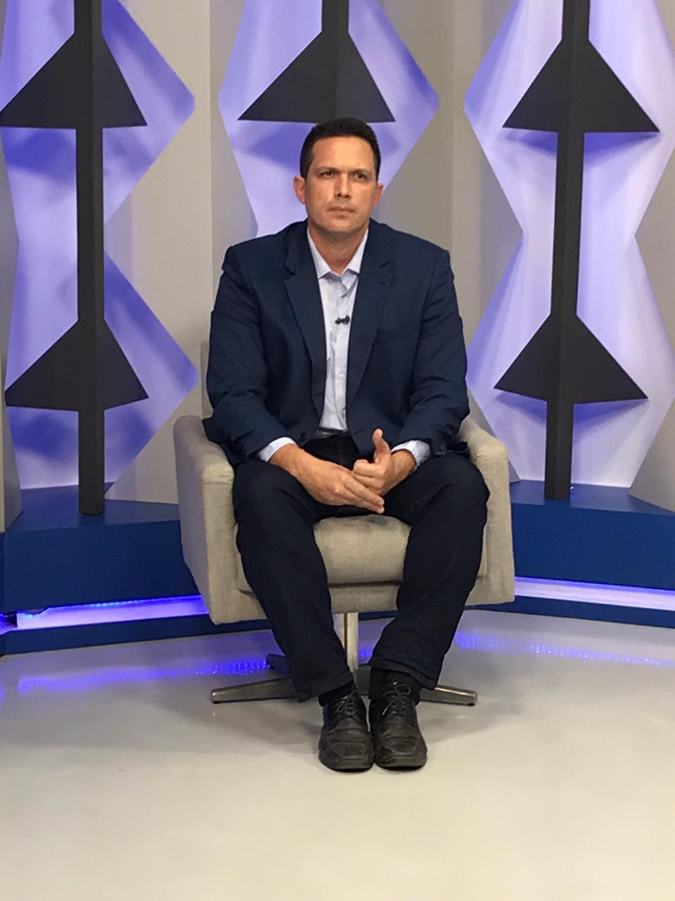 Major Diego fala sobre campanha para Prefeitura de Teresina (Meionorte.com)