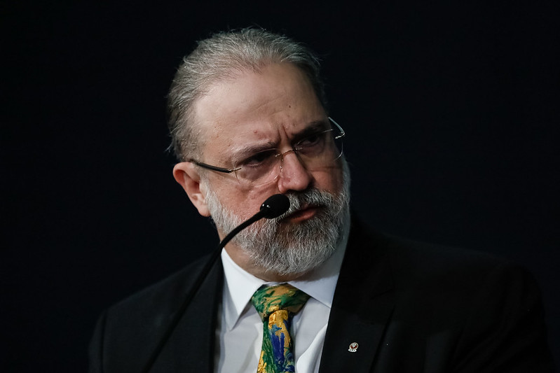 Augusto Aras testou positivo para a covid-19caption