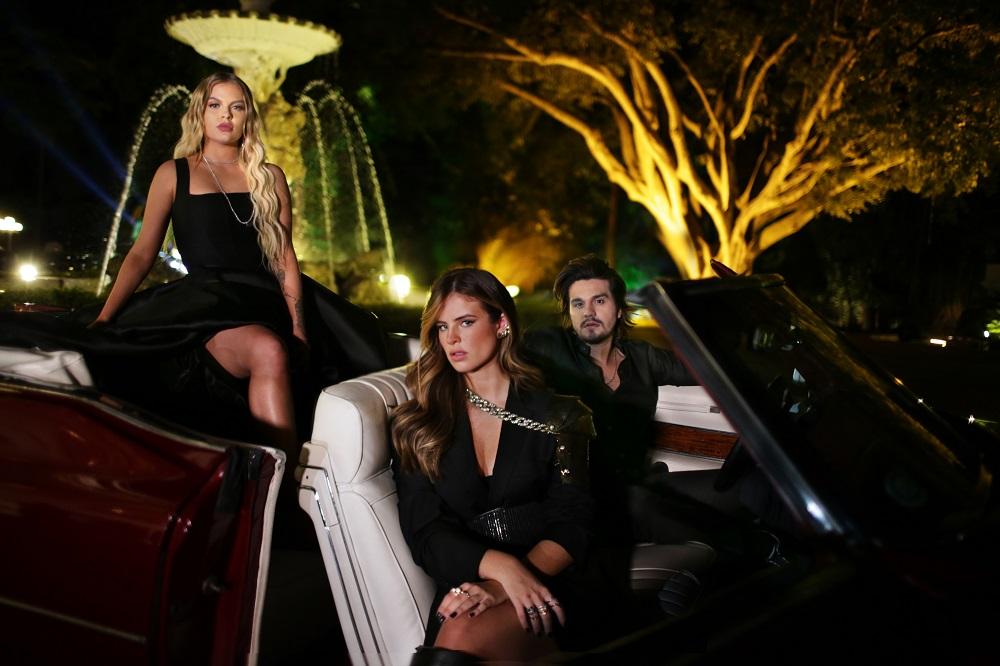 Luan Santana, Luísa Sonza e Giulia Be se juntam em ensaio glamouroso  - Imagem 1