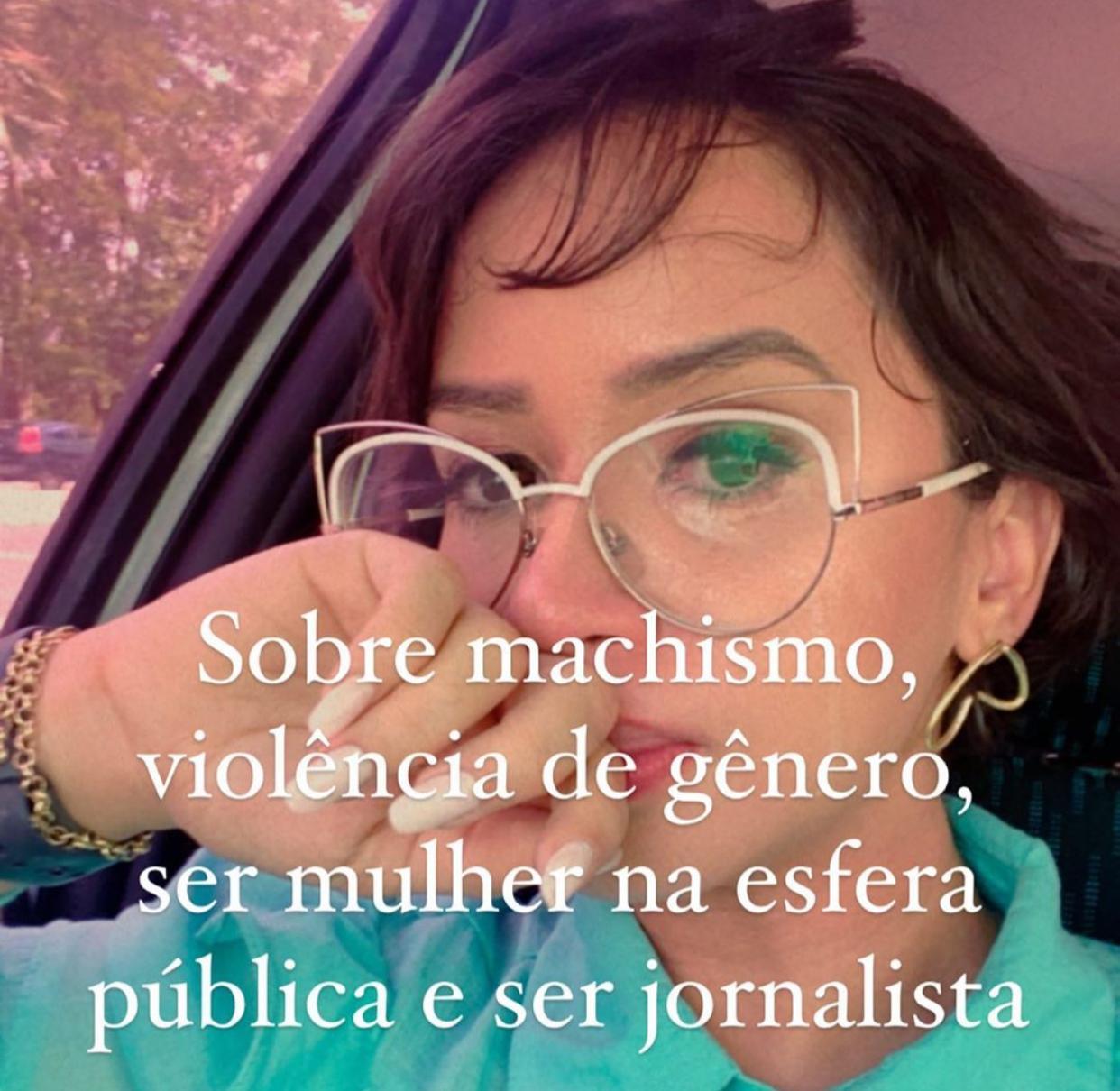 Jornalista Sávia Barreto desabafou sobre o ocorrido em suas redes sociais.