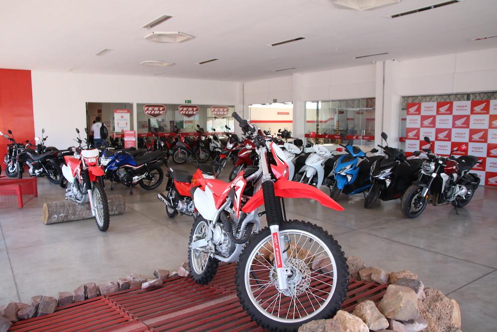 Dia especial de vendas na Japan Motos / Crédito: David Carvalho