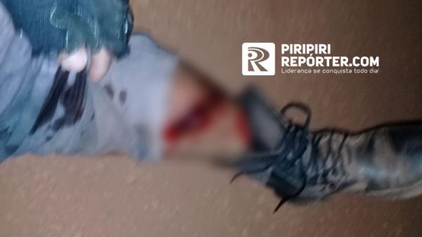 Segurança é baleado durante tentativa de assalto em Piripiri (Reprodução/ Piripiri Repórter)