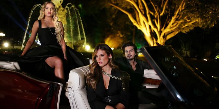Luan Santana, Luísa Sonza e Giulia Be se juntam em ensaio glamouroso
