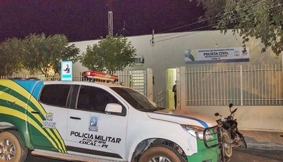 Delegacia de Polícia Civil de Cocal, no Norte do Piauí (Reprodução)
