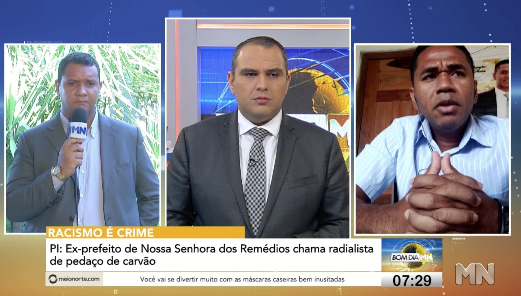 """PI: Ex-prefeito Ronaldo Lages chama radialista de """"pedaço de carvão"""" - Imagem 2"""