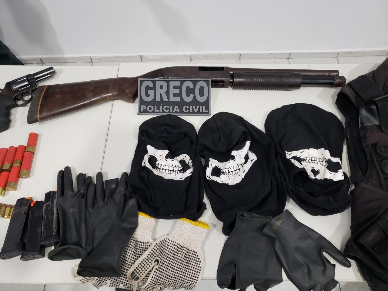 Greco realiza cinco prisões duranyte operação em Teresina (Divulgação)