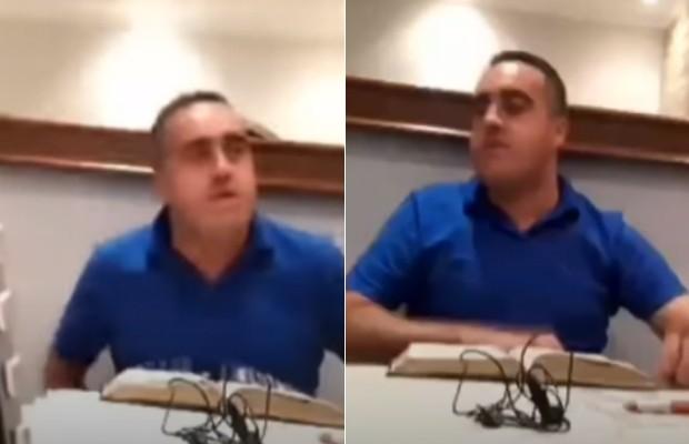 """""""Perdão pela minha falha"""", declara pastor que agrediu esposa em live - Imagem 1"""