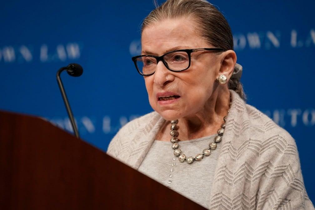 Ruth Bader - Crédito: Sarah Silbiger/Reuters