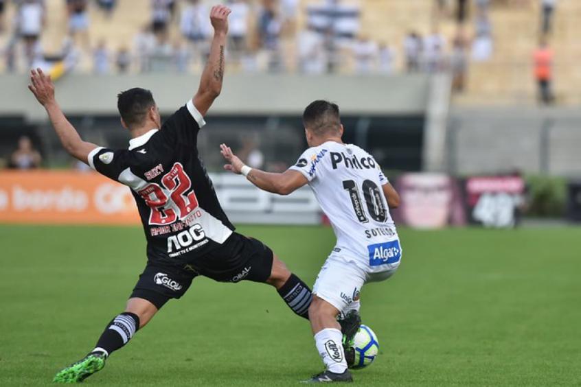 Vasco e Santos decidem 7° rodada do Brasileirão. Foto: Ivan Stort/VascoFC