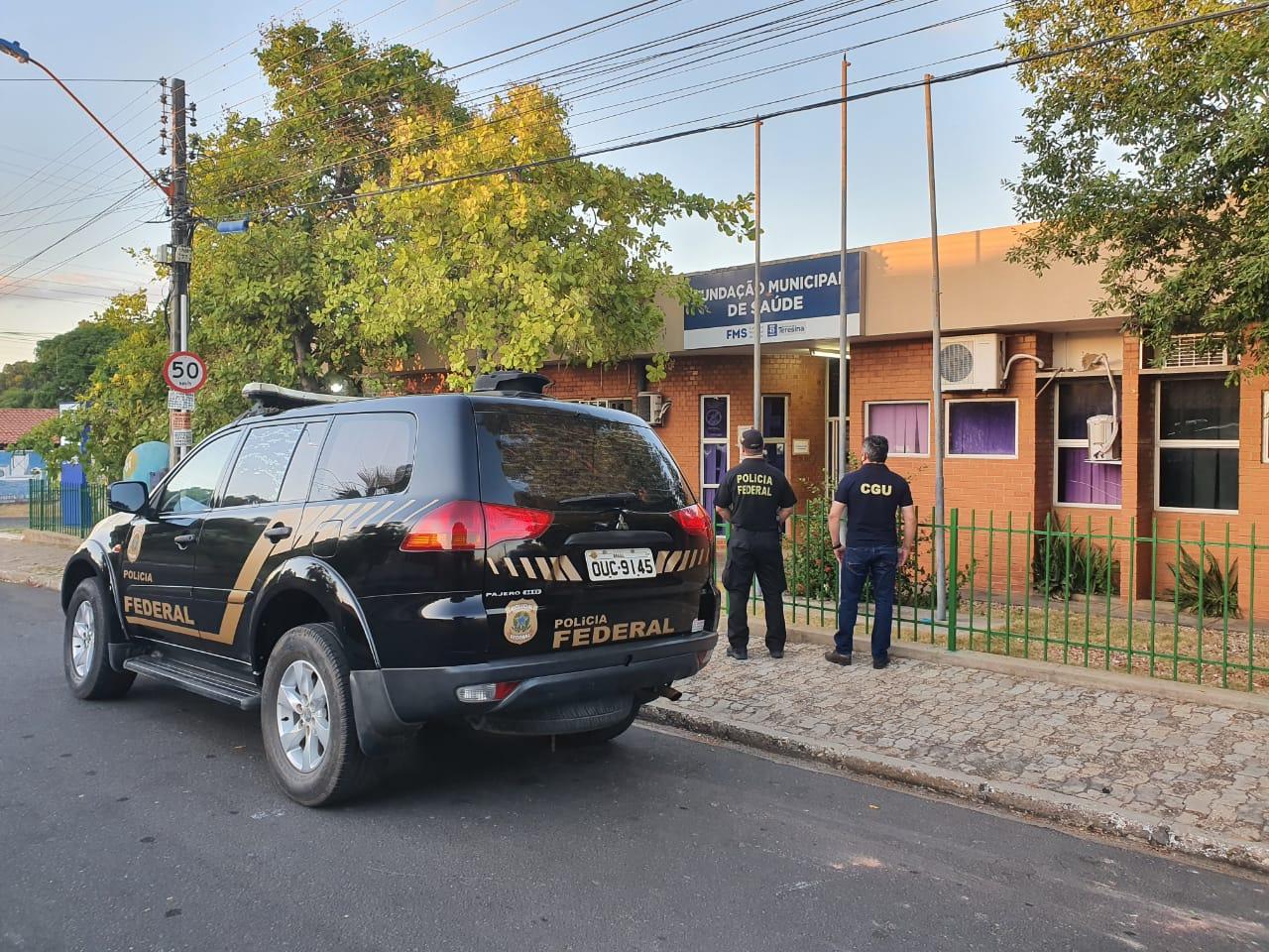 Polícia Federal realiza operação na Fundação Municipal de Saúde