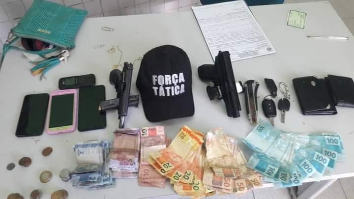 Casal acusado de série de assaltos na zona Leste de Teresina é preso