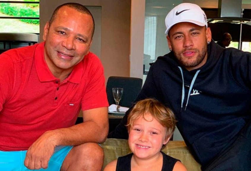 Pai e filho de Neymar Jr testam positivo para Covid-19