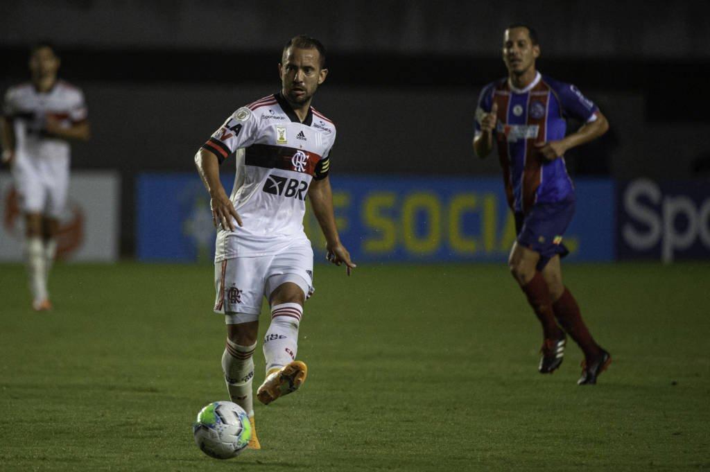 Flamengo vence o Bahia por 5 a 3 Foto: Alexandre Vidal