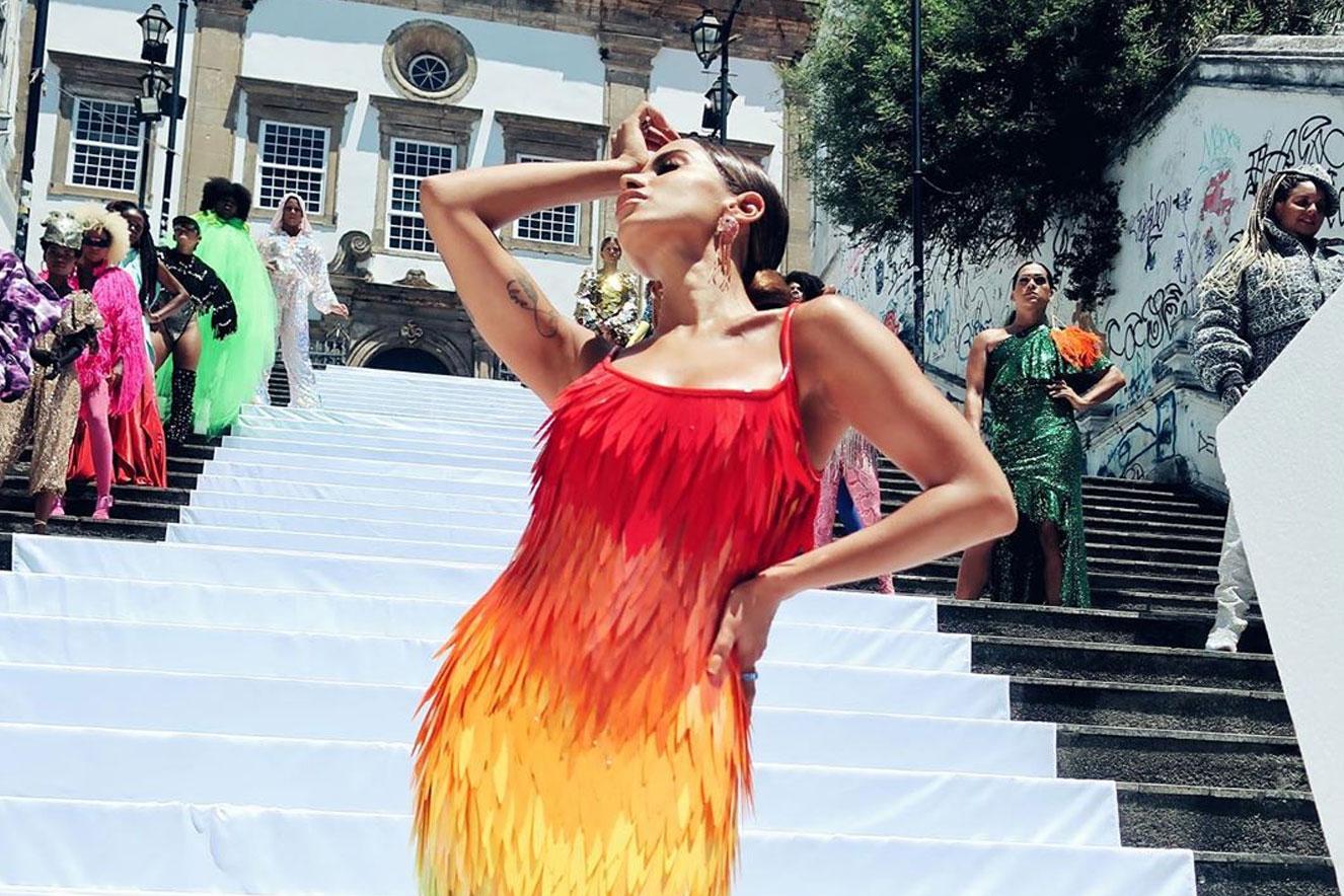 """""""Me gusta"""" é o no clipe da cantora Anitta (Imagem: Reprodução)"""