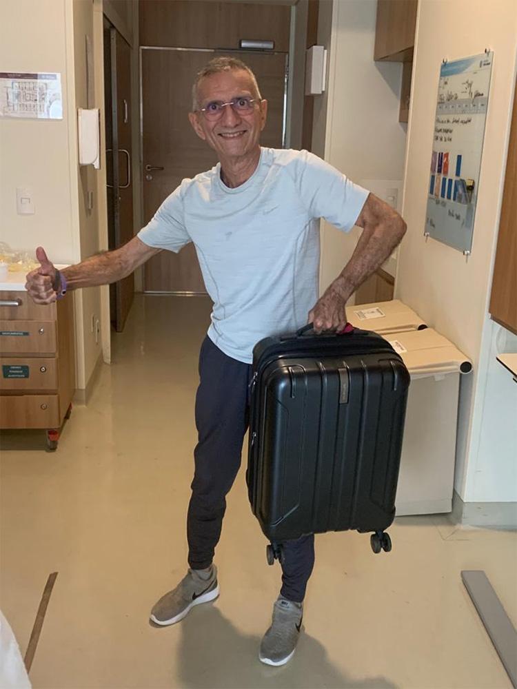 Médico José Cerqueira Dantas recebe alta do Hospital Sírio Libanês
