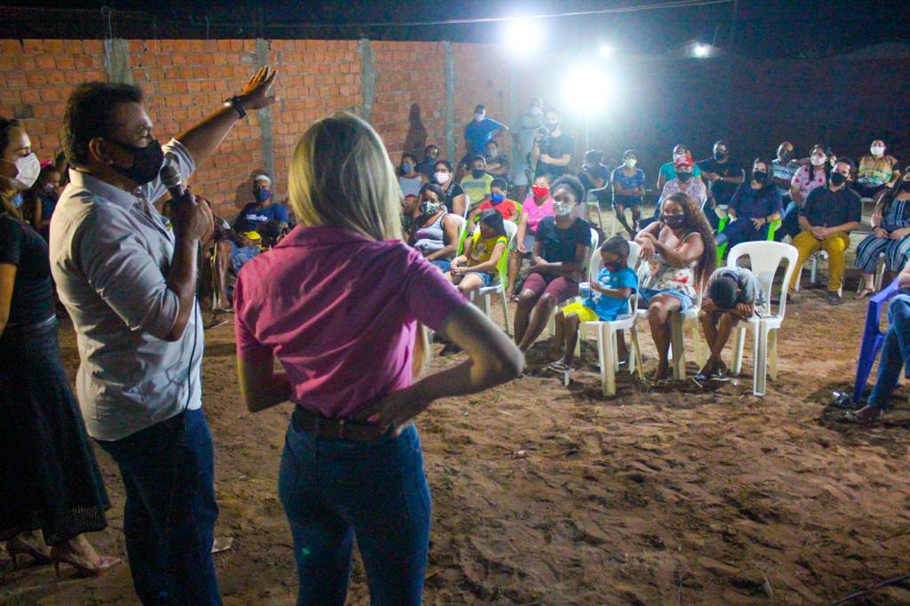 Fábio Abreu visita a região da Usina Santana