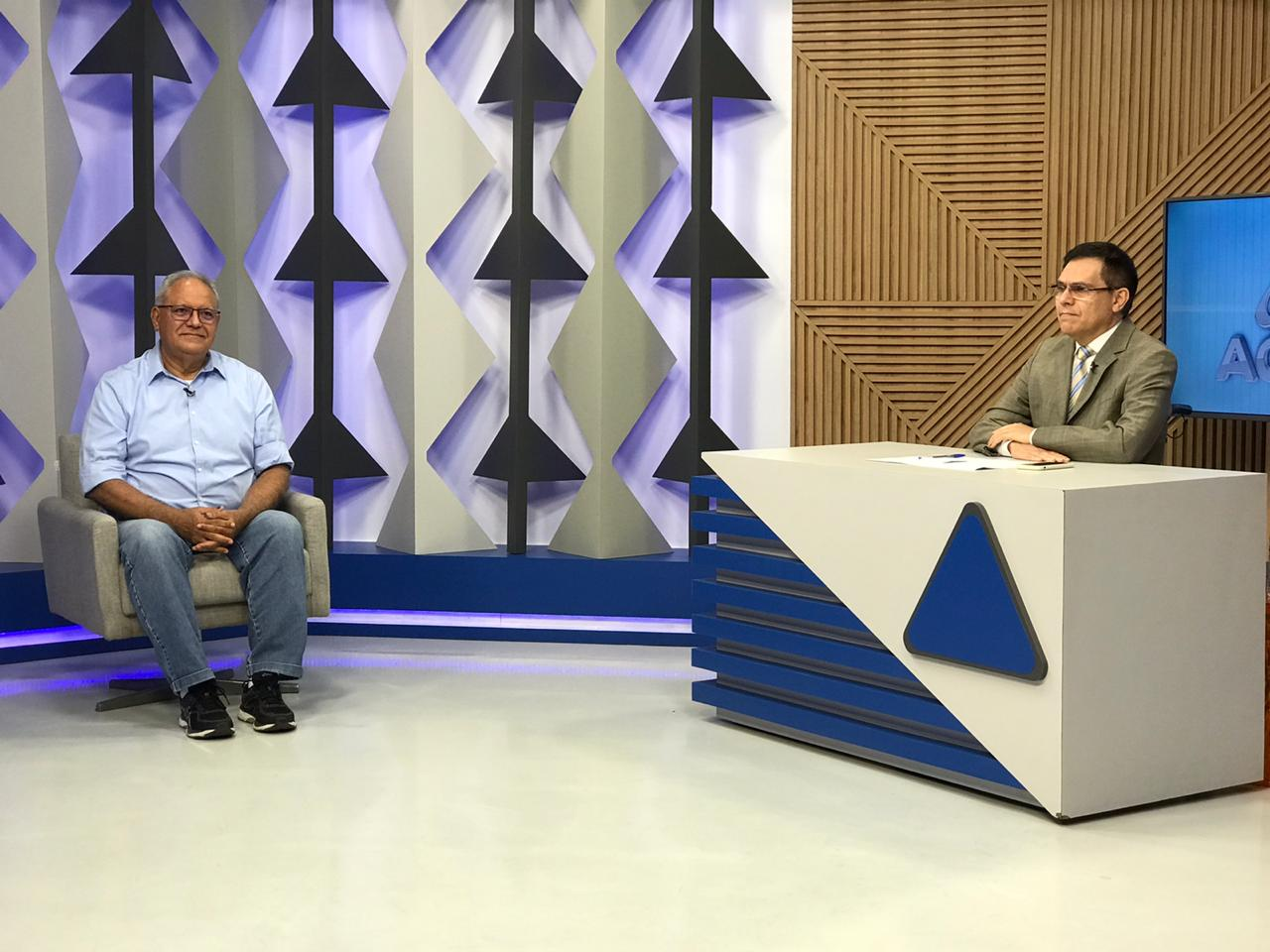 Professor Kléber Montezuma em entrevista ao Jornal Agora - Foto: Meio Norte