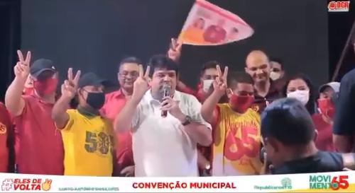 """Candidato coloca mudos para """"discursar"""" durante convenção no Maranhão - Imagem 1"""