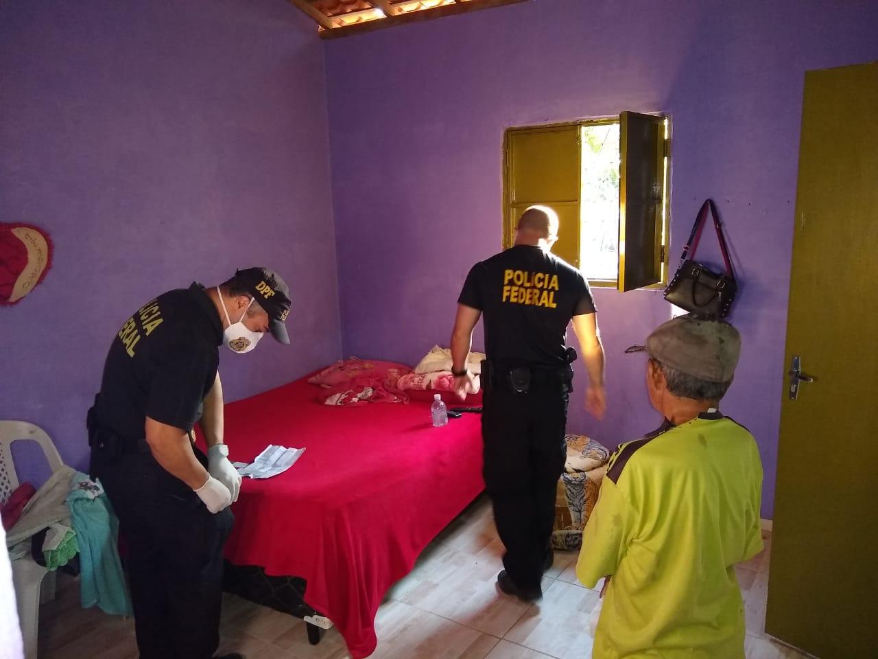 PF cumpre mandados de busca em cidades do Piauí e Maranhão (Divulgação)