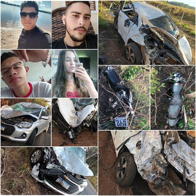 Em menos de 5 horas, quatro pessoas morreram em dois acidentes na BR-010 no MA - Foto: PRF