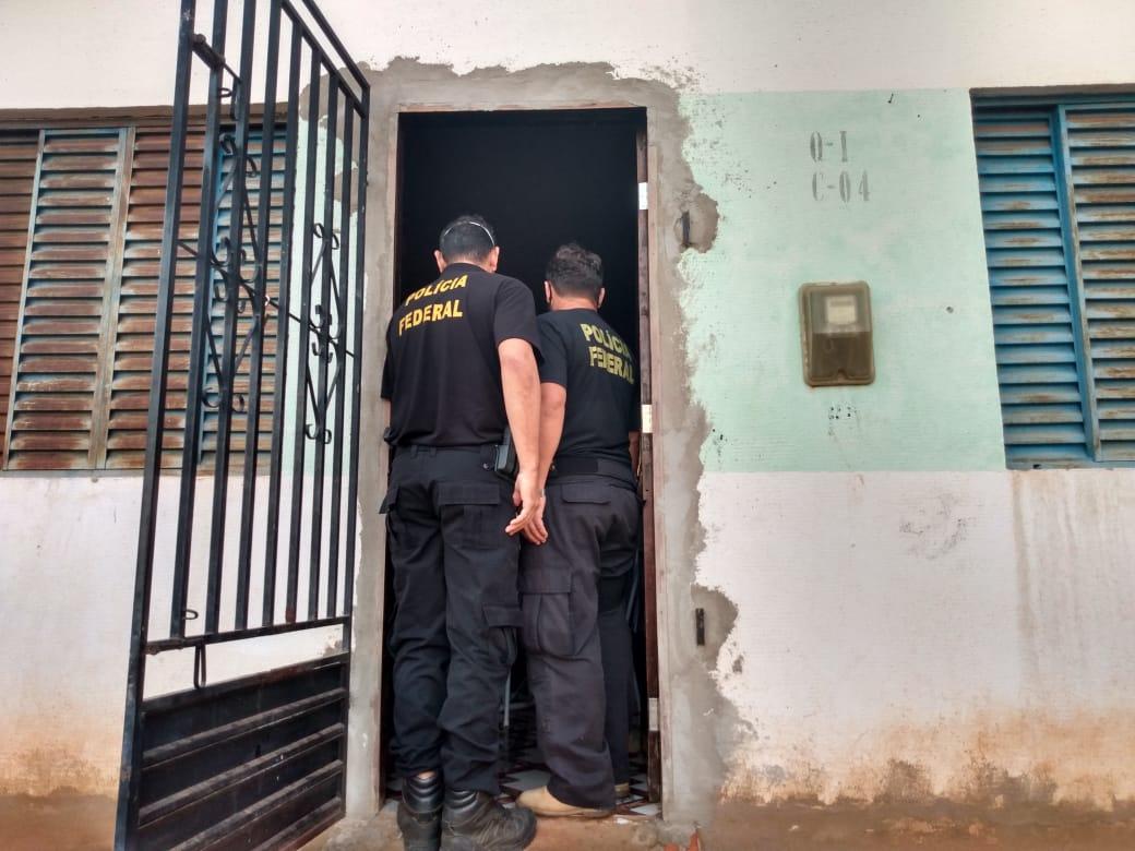 PF cumpre mandandos no Piauí e Maranhão em operação (Divulgação)