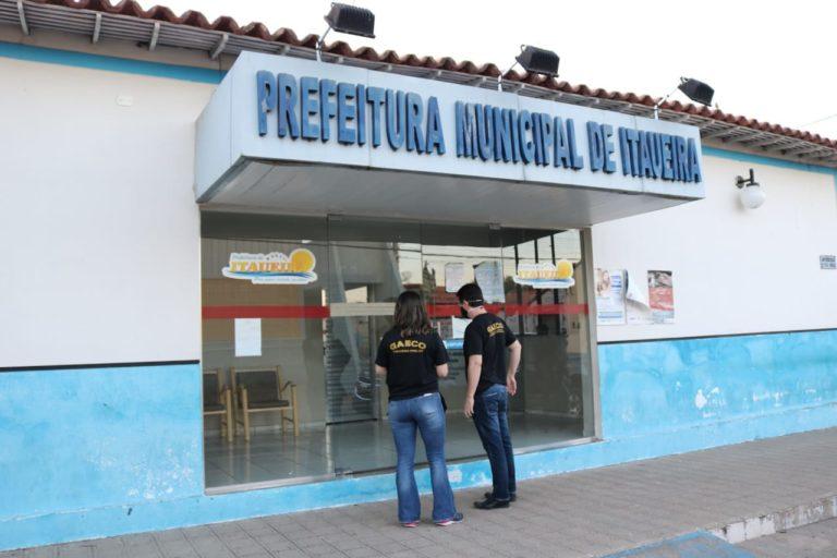GAECO cumpre mandados de prisão em Itaueira (Divulgação)