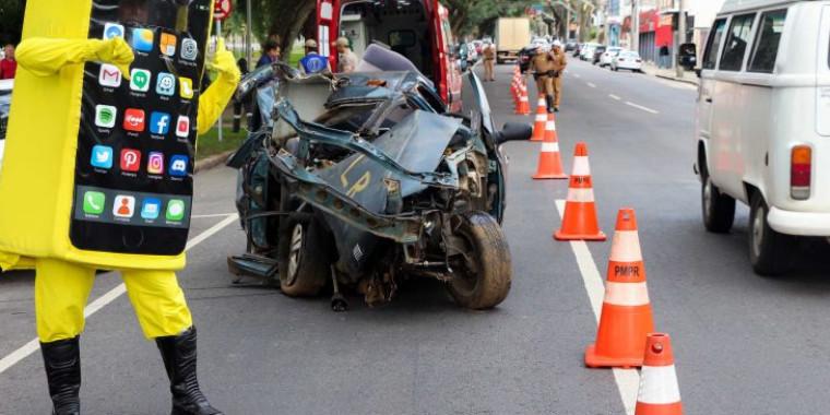 Brasil gastaR$ 2 bilhões por ano com acidentes de transporte