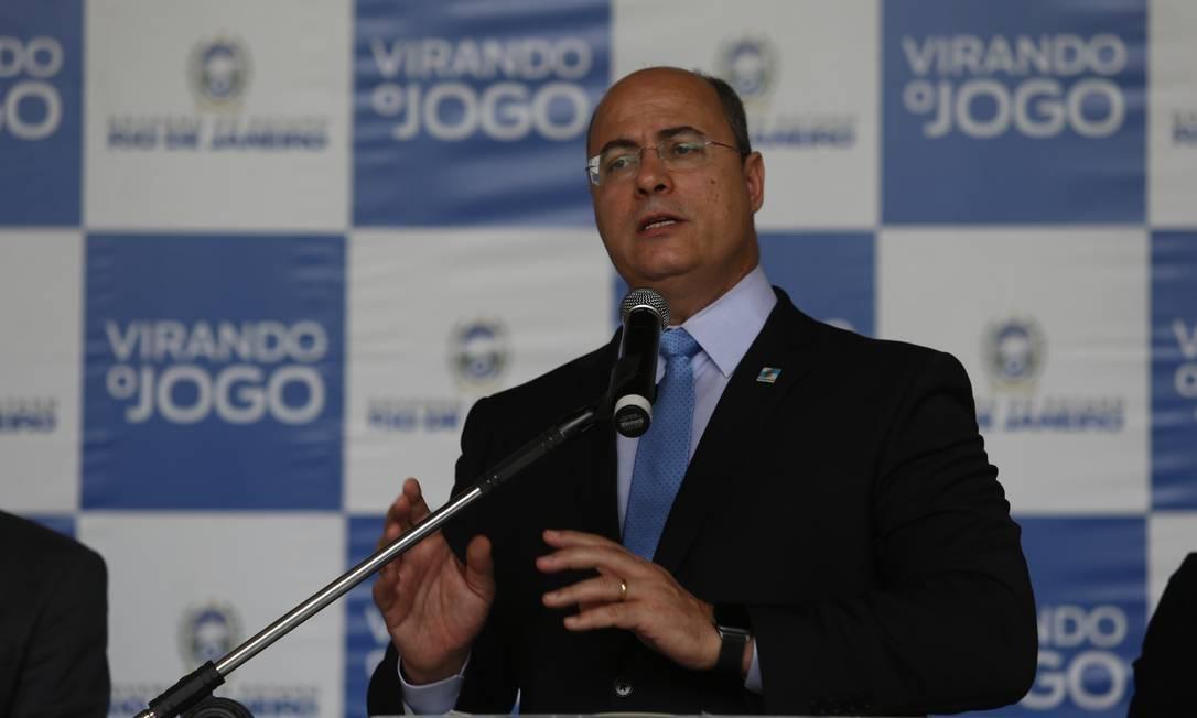 Governador afastado Wilson Witzel (PSC). Foto: Reuters