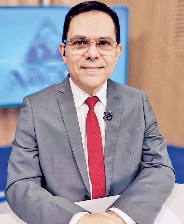 Amadeu Campos, apresentador da Rede Meio Norte, vai mediar o debate - Foto: Divulgação