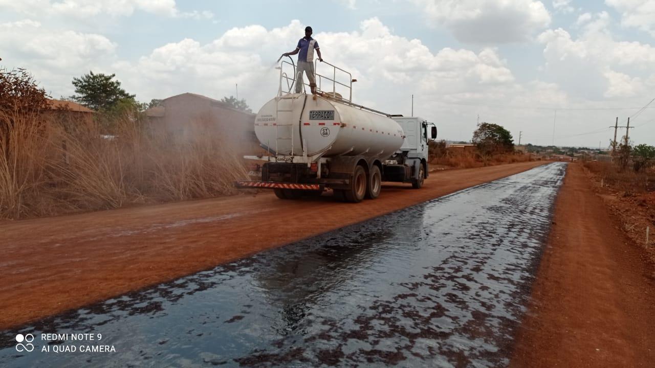 Obras de asfaltamento da PI-392 iniciaram na terça-feira (22)