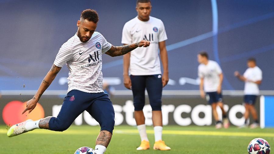 Neymar foi o 4° mais votado, mas não ficou na lista- Foto: Getty Images-Michael Reagan