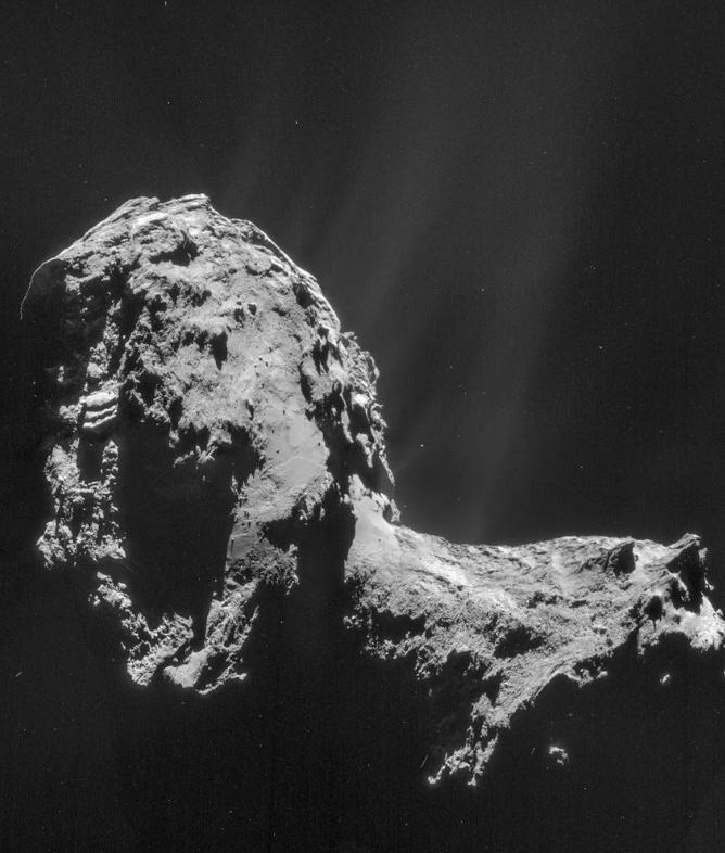 Cometa (Foto: Esa)
