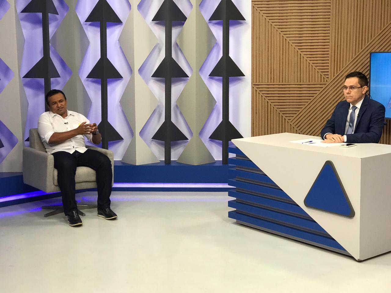 Pré-candidato a prefeito de Teresina , Fábio Abreu em entrevista ao Jornal Agora - Foto: Meio Norte