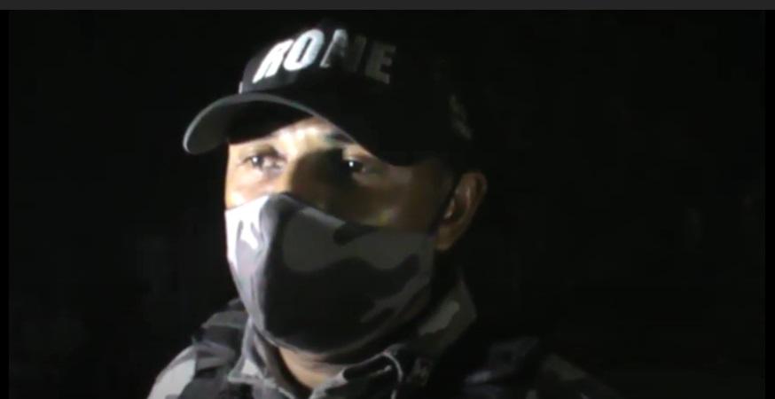Policiais da RONE foram acionados até o local