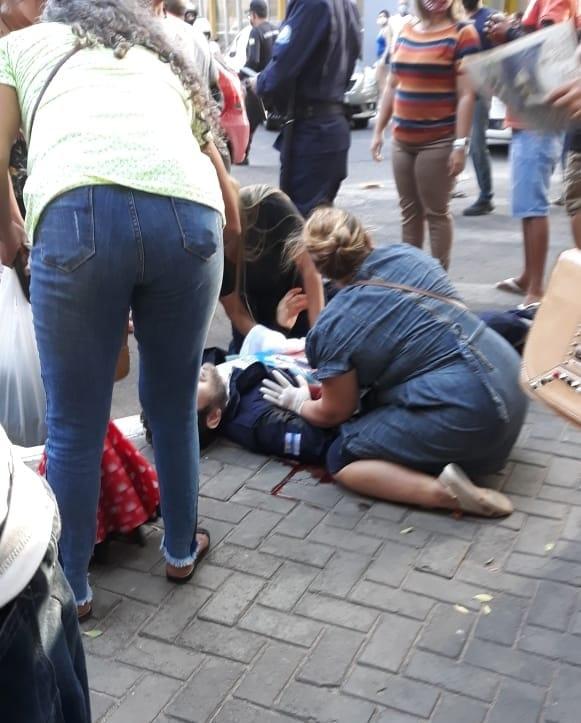 Agente de trânsito assassinado após multar mototaxista - Foto: Divulgação