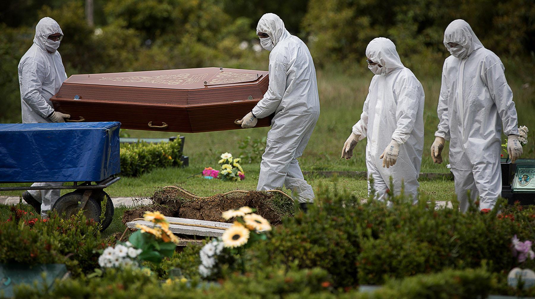 mortes por coronavírus