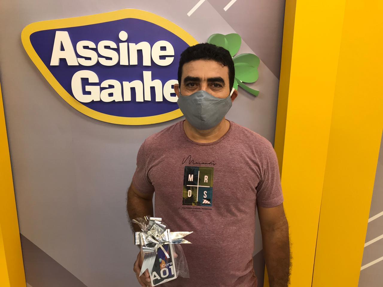Antônio Sobrinho foi o quarto ganhador do Assine Ganhe