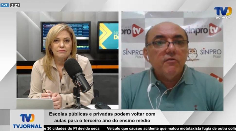 Presidente do Sindicato conversou com Cinthia Lages