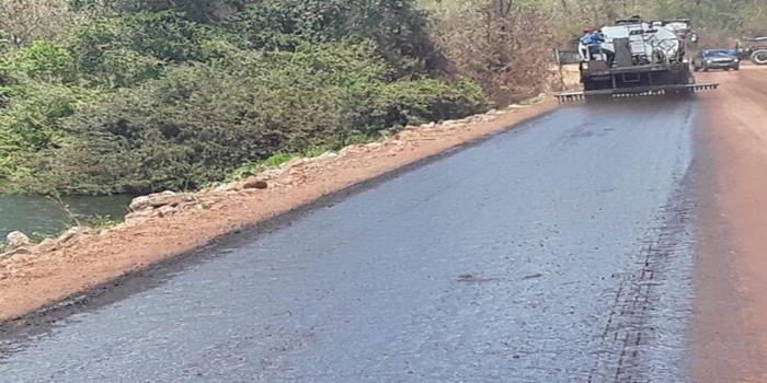 PIRIPIRI/PI: Governo do Estado inicia asfaltamento da PI-327