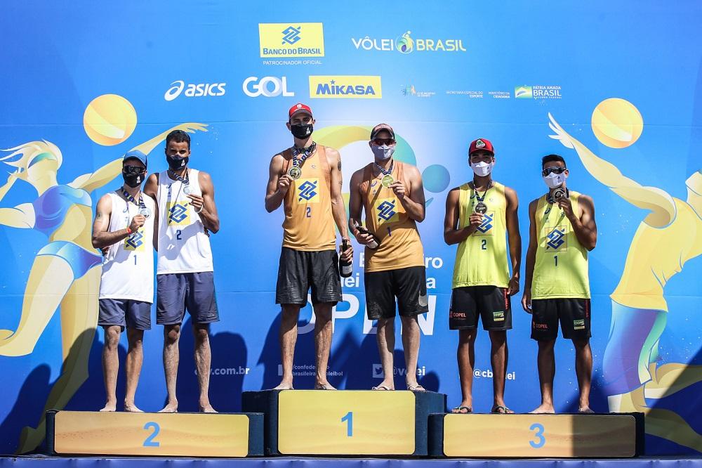 André e George ficam com título na retomada do vôlei de praia nacional - Imagem 1