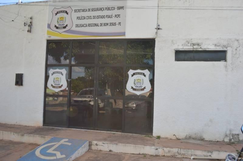 Delegacia Regional de Bom Jesus, no Sul do Piauí - Foto: Reprodução
