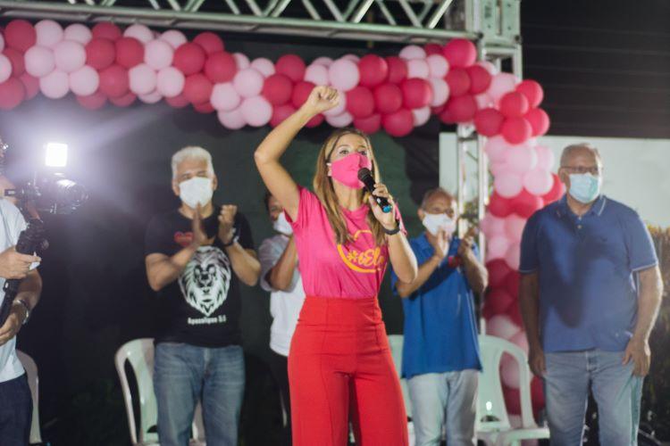 Tatiana Medeiros lança oficialmente candidatura a vereadora de THE